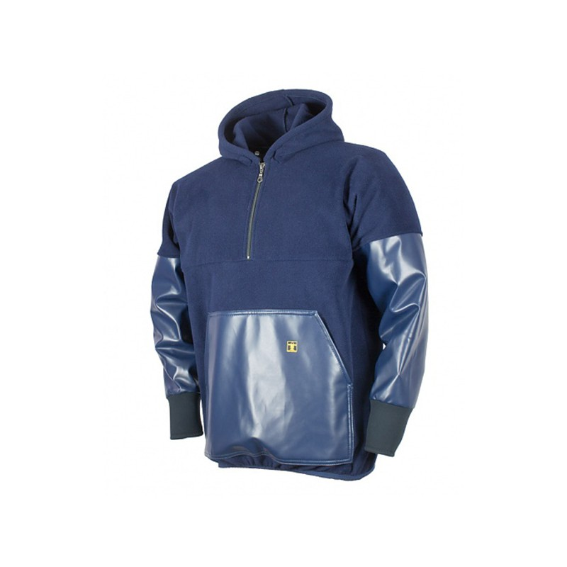 Sweat Polaire Renforc/é Kodiak GUY COTTEN Bleu Marine XXL